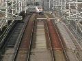 動画:新幹線500系通過